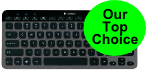 logitech k810 top choice wireless keyboard