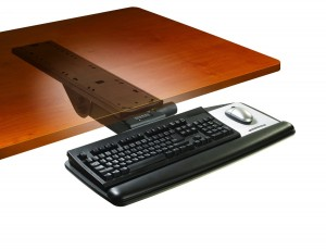 3m easy adjust ergonomic keyboard tray