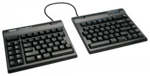 kinesis freestyle ergonomic keyboard with vip attachments